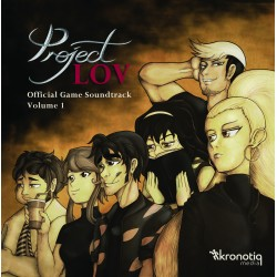 CD - Project LOV Soundtrack - Side A